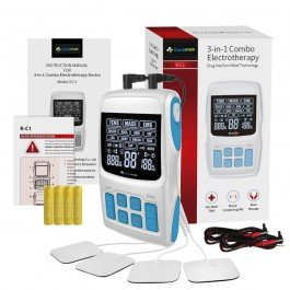 TENS Machine & EMS & Massage 3 in 1 Unit - External Battery