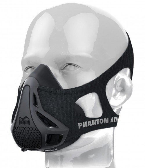 Phantom Training Mask-Black-Medium (Weight between 70 - 100kg)