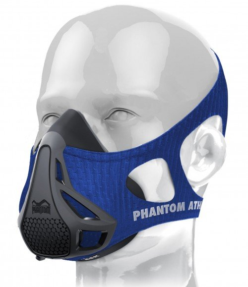 Phantom Training Mask-Blue-Medium (Weight between 70 - 100kg)
