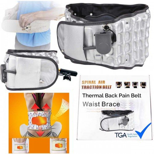 Dr Physio THERMAL Decompression AirTraction Back Belt