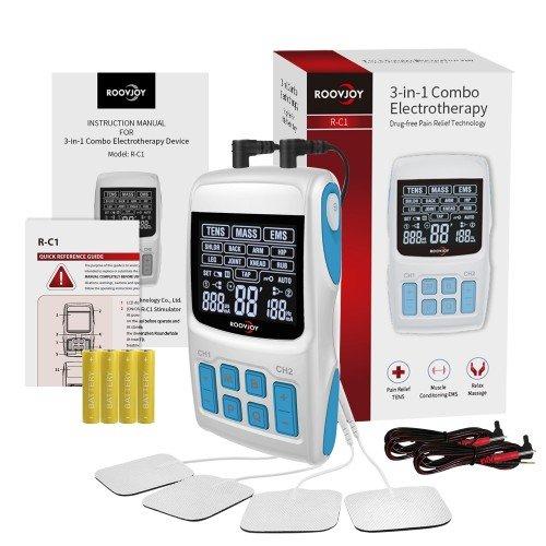 TENS & EMS & Massage 3 in 1 Machine - External Battery
