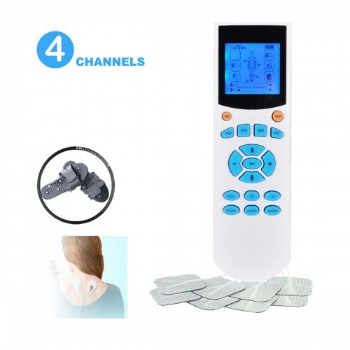 4-Channel Portable TENS Machine EMS Unit
