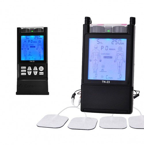 Professional Tens Machine Unit TN-23 with Backlit LCD