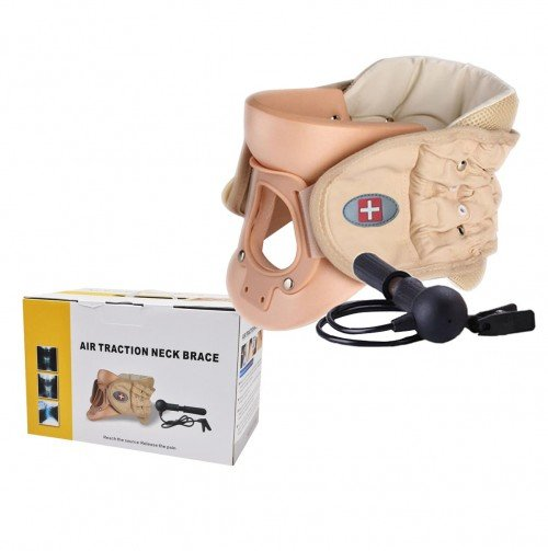 Cervical Collar Air Traction Belt with Pump