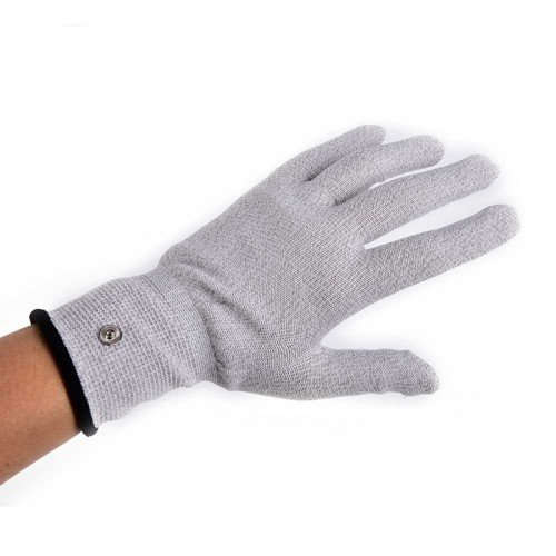 Electrode Conductive Hand Glove Garment for TENS Machine