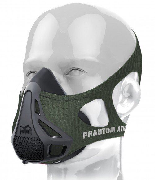 Phantom Training Mask-Green-Medium (Weight between 70 - 100kg)
