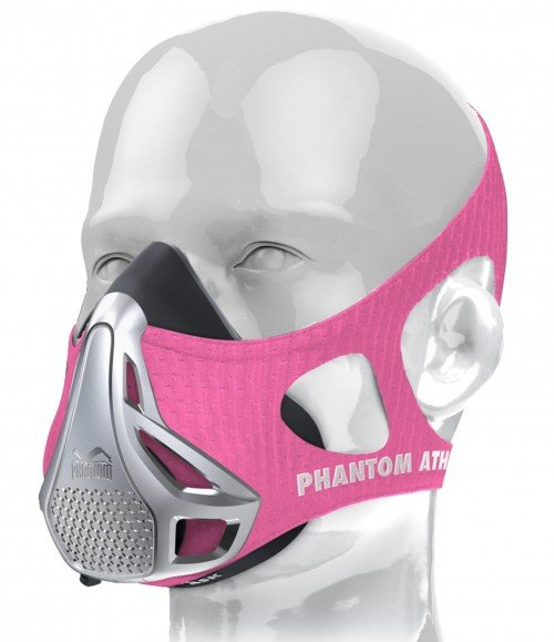 Phantom Training Mask-Pink-Medium (Weight between 70 - 100kg)