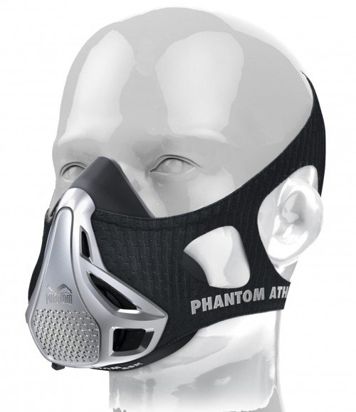 Phantom Training Mask-Silver-Large (Weight > 100kg)