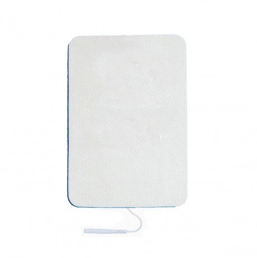 Premium Long Life Electrode Pads - Extra LARGE 15(cm) X 10(cm) - Pin Type for TENS Machine