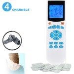 4-Channel Portable TENS EMS Machine Unit