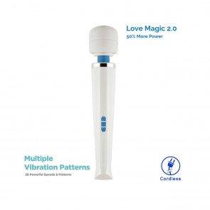 28 Modes LOVE MAGIC 2.0 Cordless Wand Massager