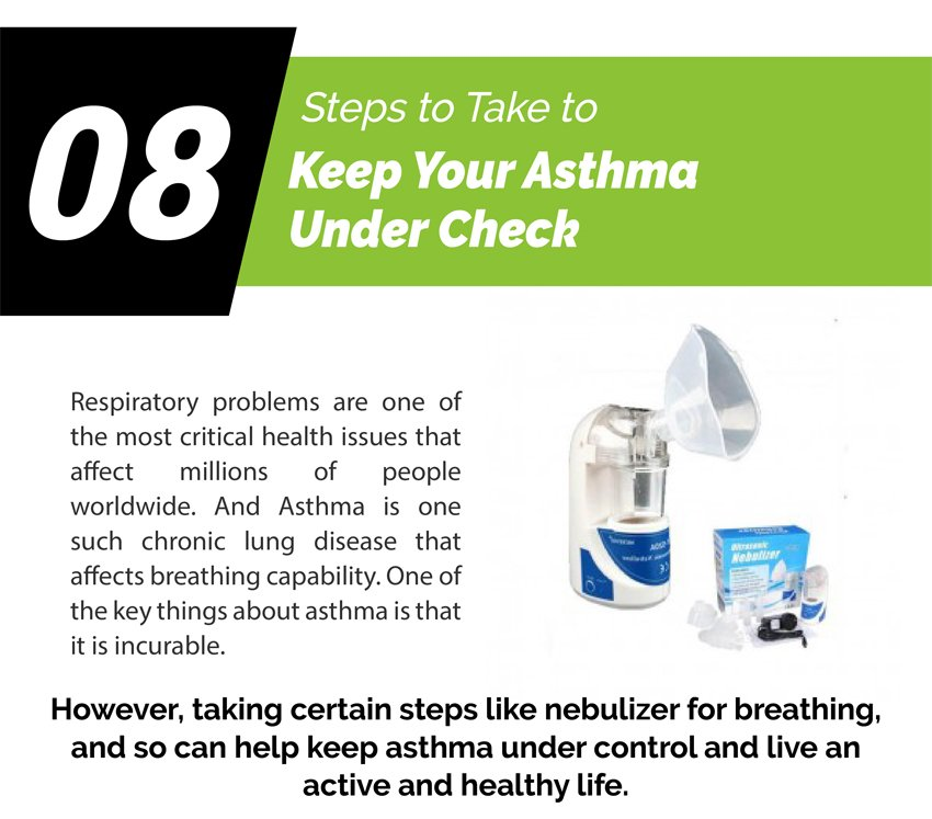 8 Steps To Take To Keep Your Asthma Under Check