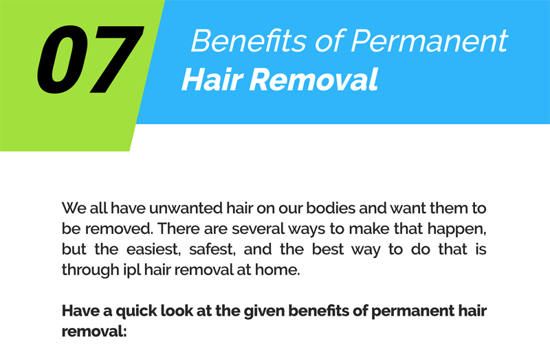 07 Benefits Of Permanent Hair Removal