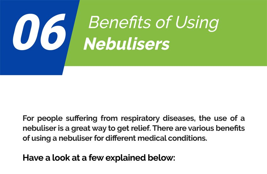 07 Benefits of Using Nebulisers